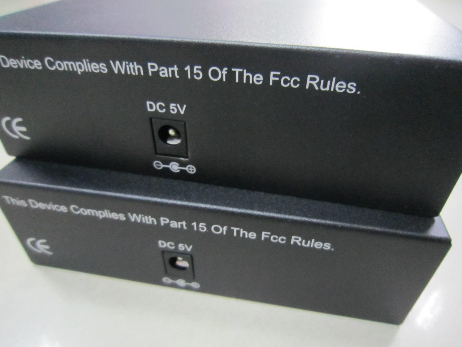 百兆1光8电单模单纤光纤收发器百万高清摄像机专用